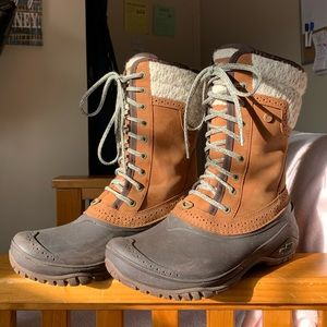 North Face Women's Winter Boots like new